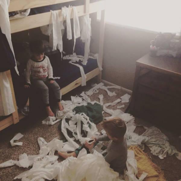 Il ne faut pas laisser les enfants seuls (10)